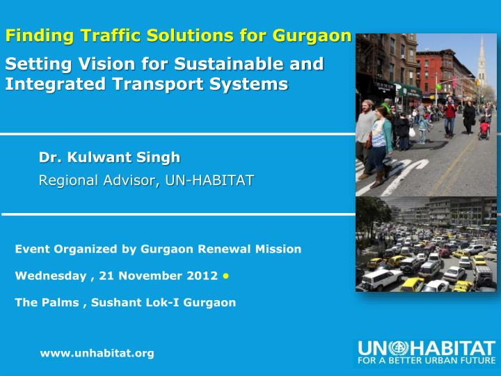 Finding Traffic Solutions for Gurgaon