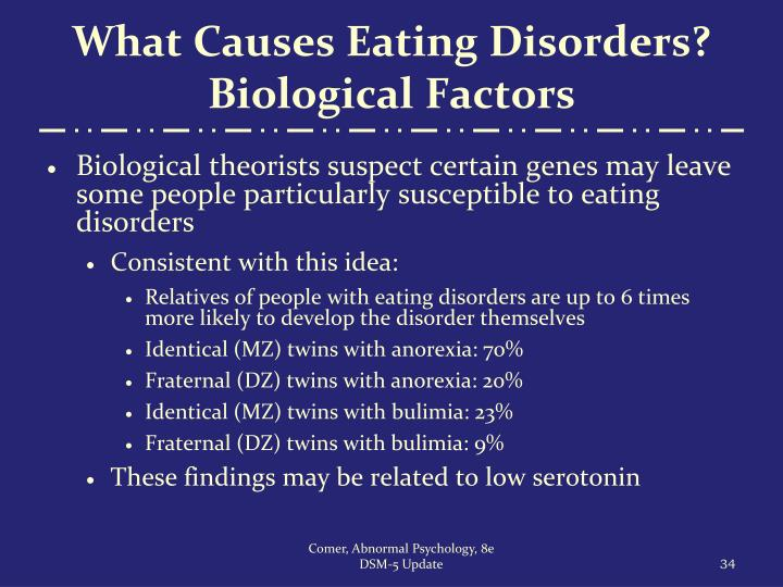 What Causes Eating Disorders? Biological Factors