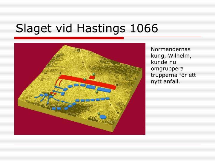 Slaget vid Hastings 1066