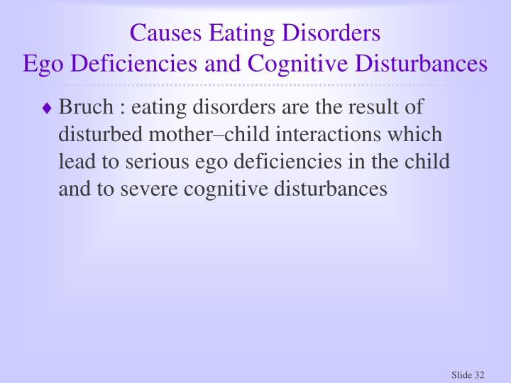 Causes Eating Disorders