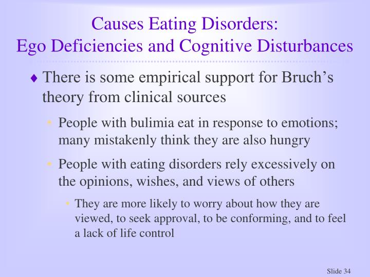Causes Eating Disorders: