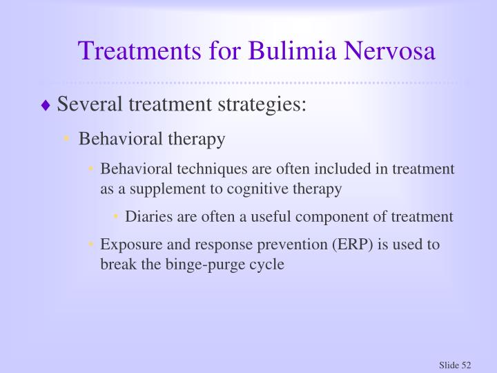 Treatments for Bulimia Nervosa