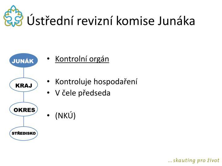 Ústřední revizní komise Junáka