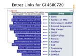 entrez links for gi 4680720