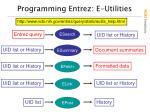 programming entrez e utilities