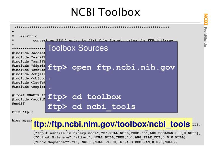 Toolbox Sources