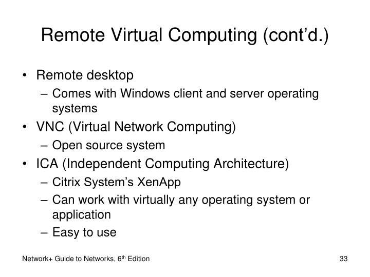 Remote Virtual