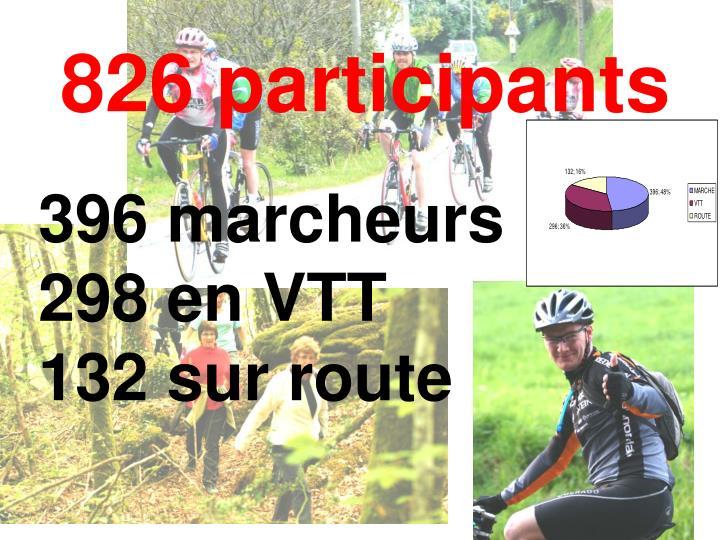 826 participants