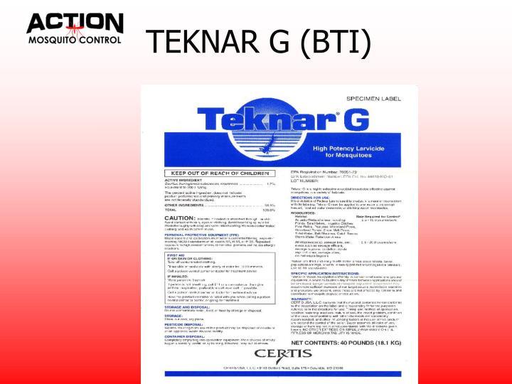 TEKNAR G (BTI)