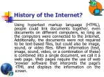 history of the internet2