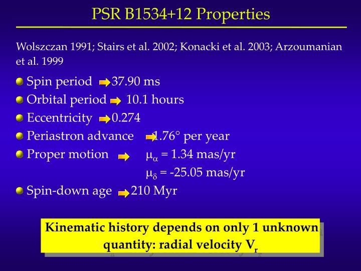 Wolszczan 1991; Stairs et al. 2002; Konacki et al. 2003; Arzoumanian et al. 1999