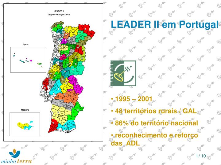 LEADER II em Portugal