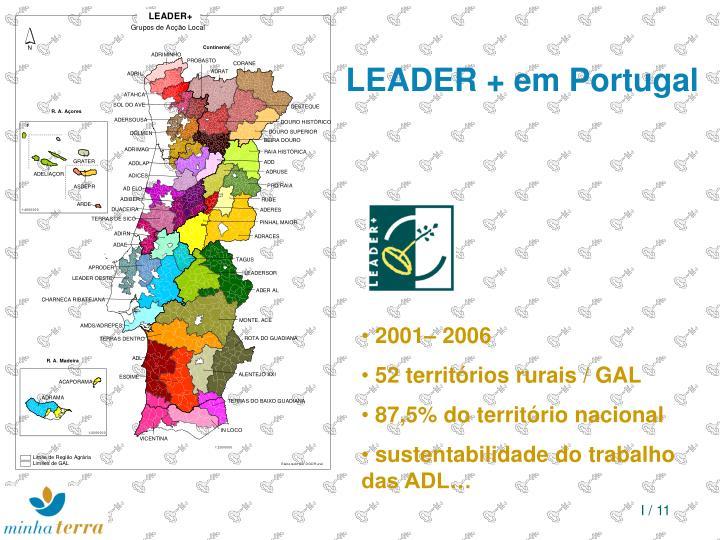 LEADER + em Portugal