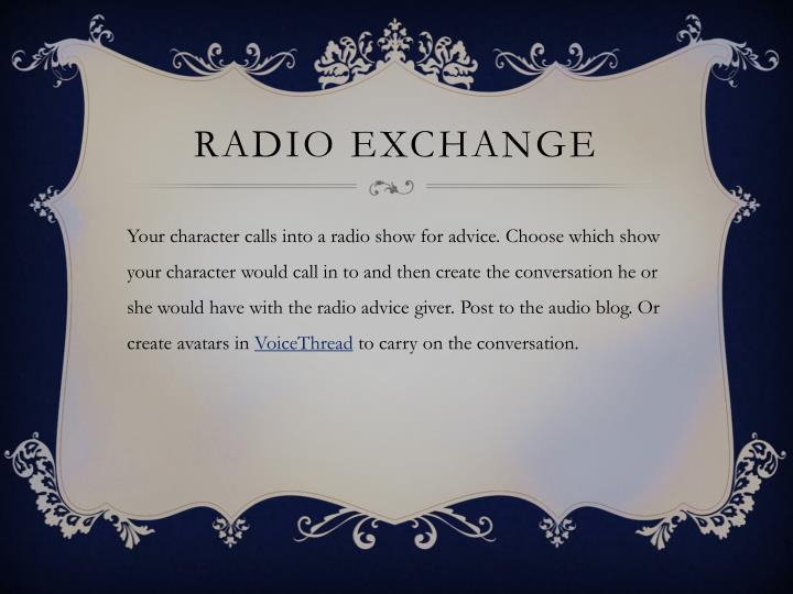 Radio Exchange