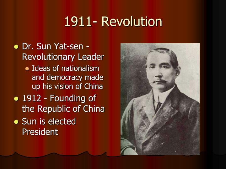 1911- Revolution