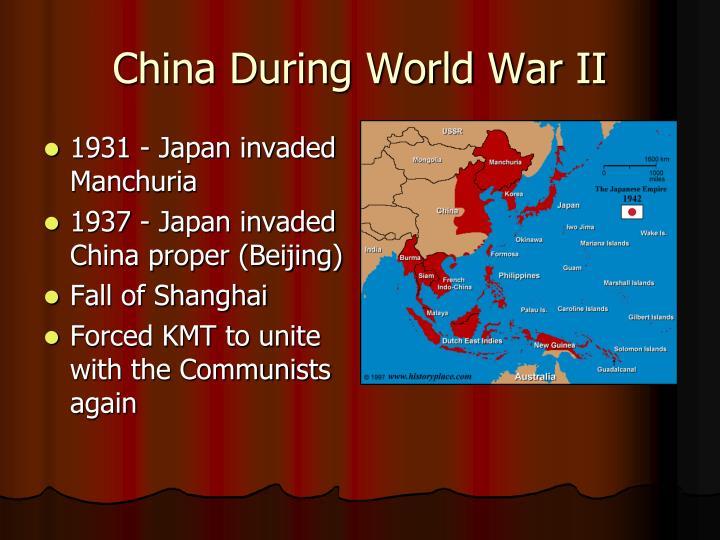 China During World War II