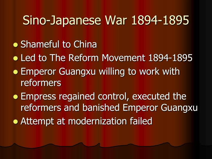 Sino-Japanese War 1894-1895