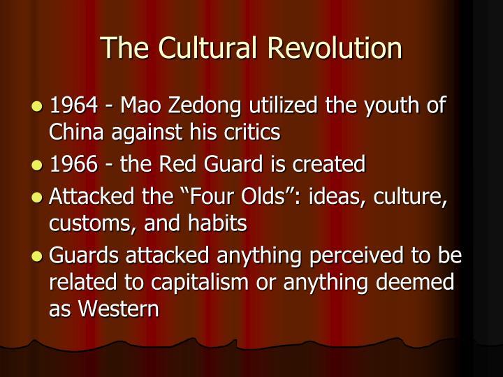 The Cultural Revolution
