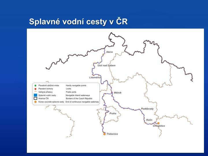 Splavné vodní cesty v ČR