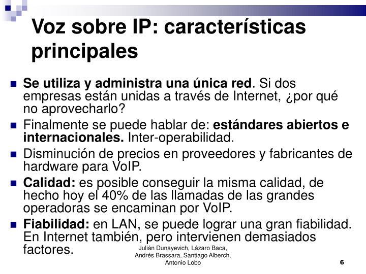Voz sobre IP: