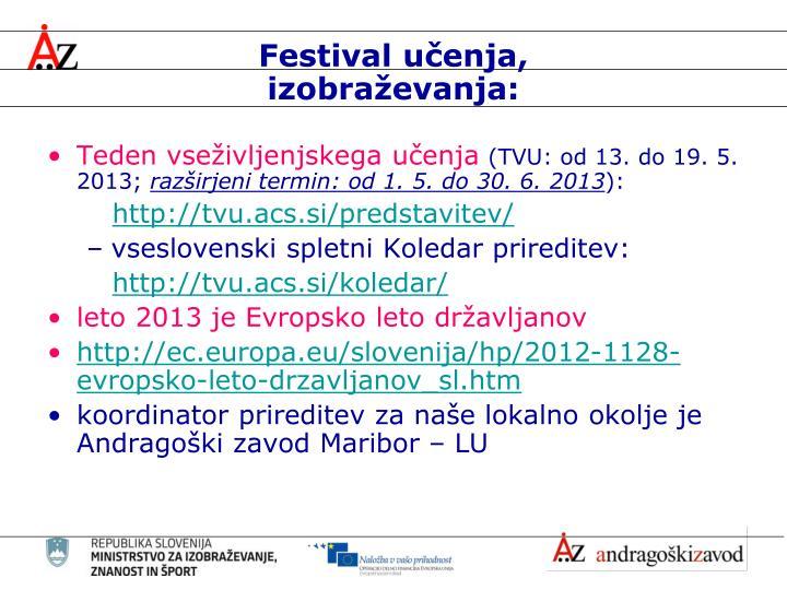 Festival učenja,