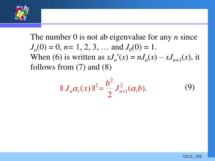 The number 0 is not ab eigenvalue for any