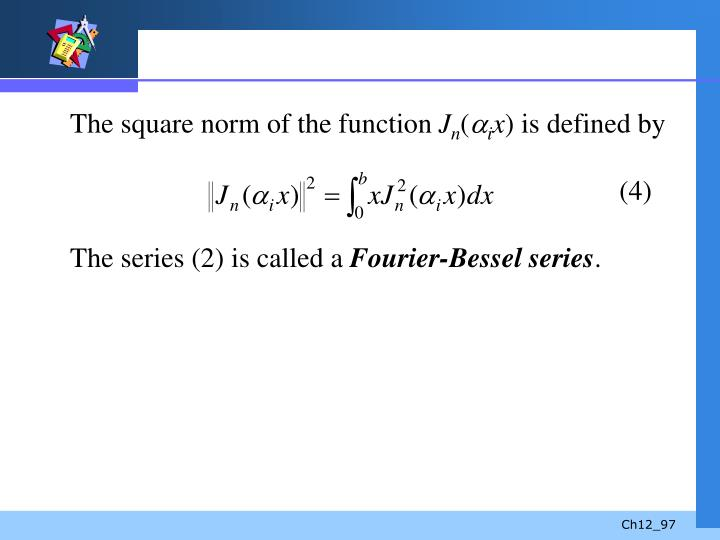 The square norm of the function