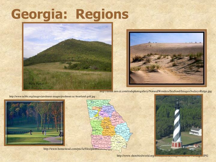 Georgia:  Regions