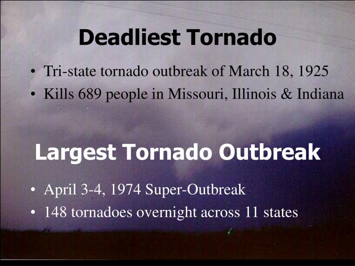 Deadliest Tornado