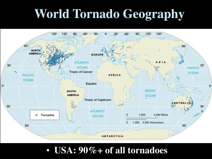 World Tornado Geography