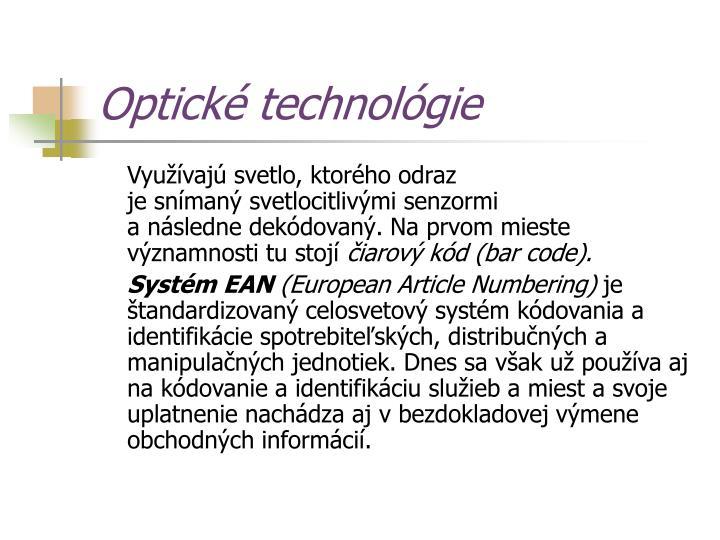 Optické technológie