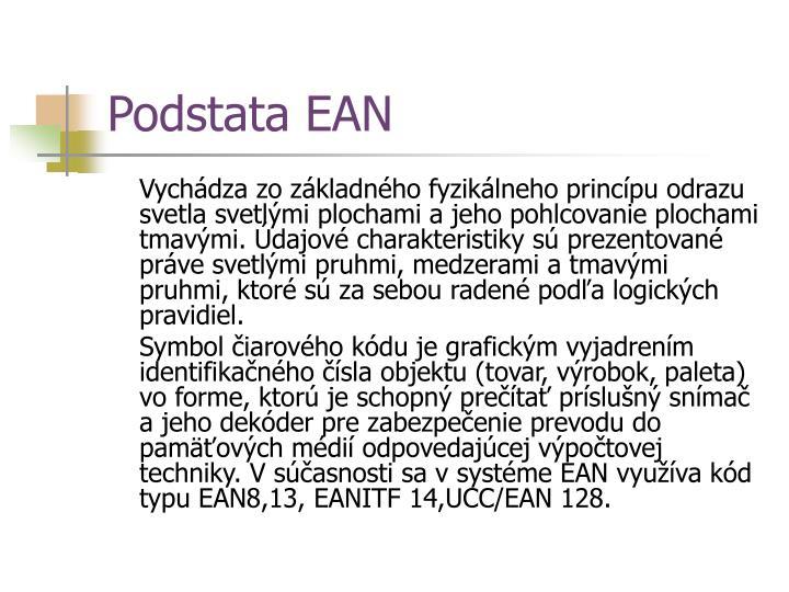 Podstata EAN