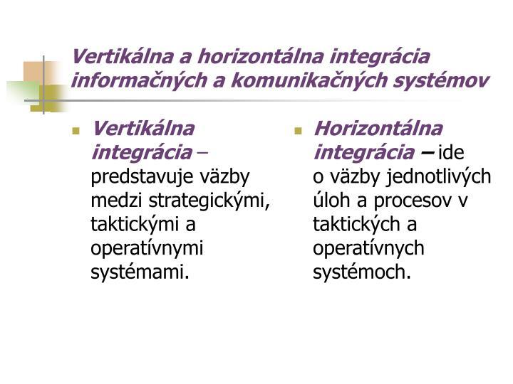 Vertikálna integrácia