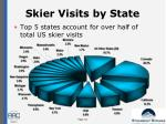 skier visits by state