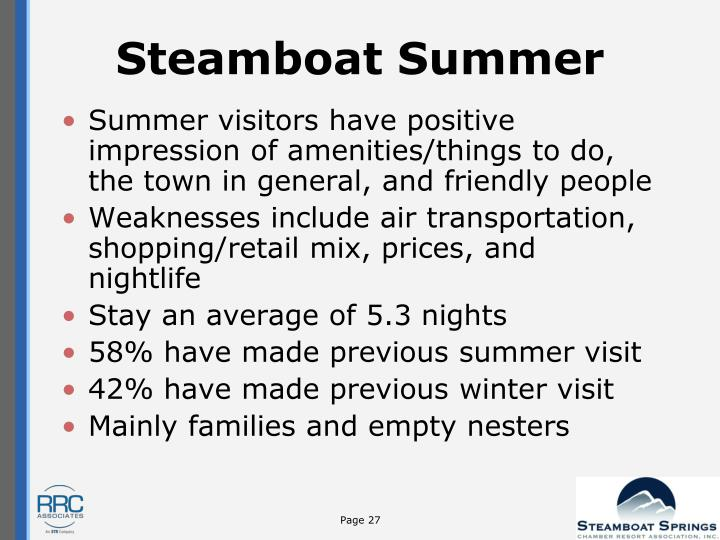 Steamboat Summer