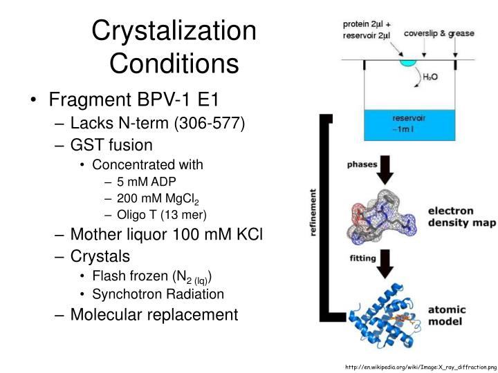 Crystalization Conditions