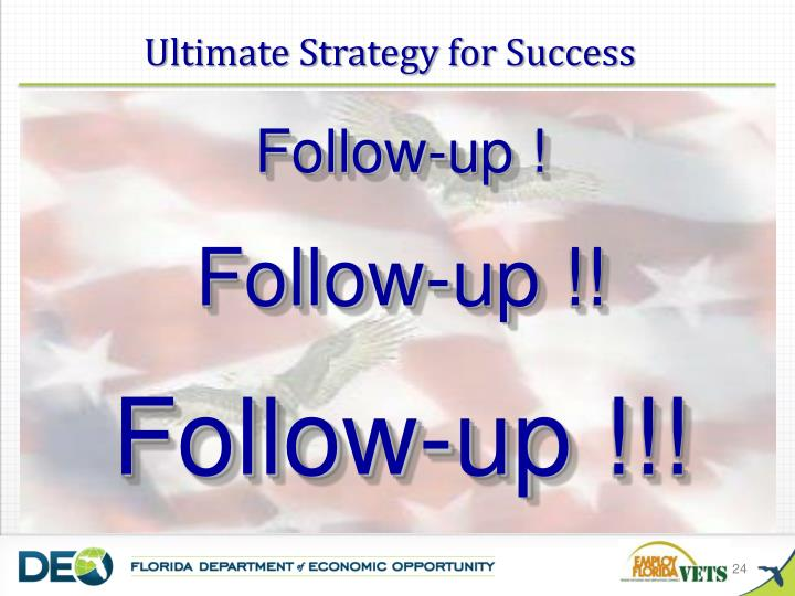 Ultimate Strategy for Success
