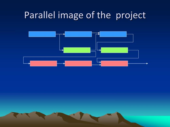 Parallel image of the  project