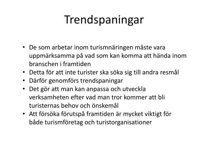 Trendspaningar