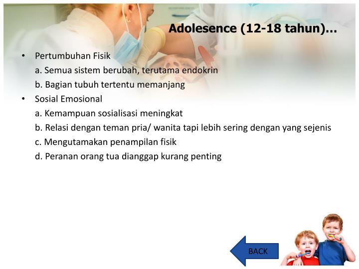 Adolesence