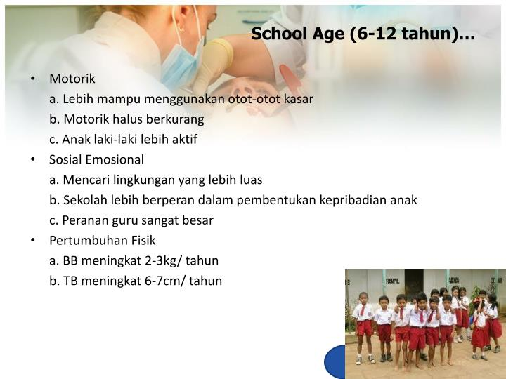School Age (6-12