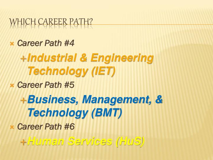 Career Path #4