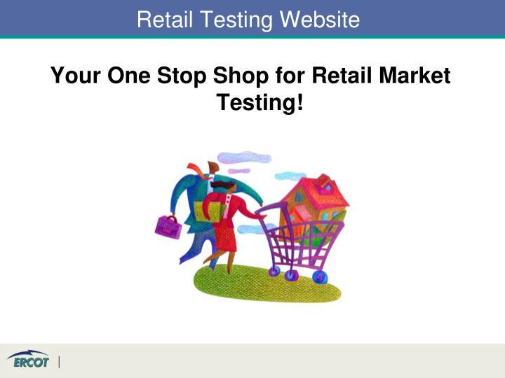 Retail Testing Website