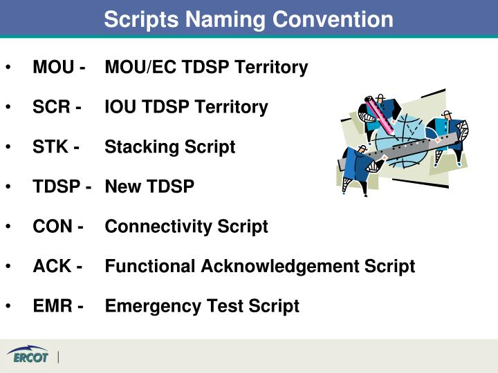 Scripts Naming Convention