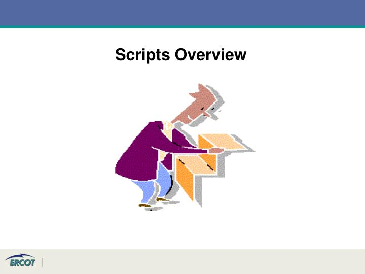Scripts Overview