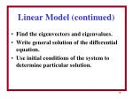 linear model continued1