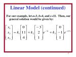 linear model continued2