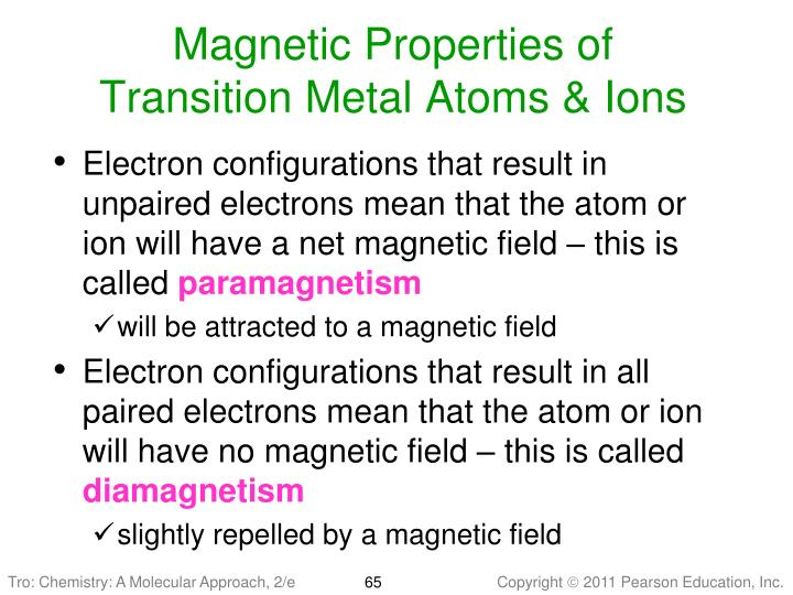 Magnetic Properties of