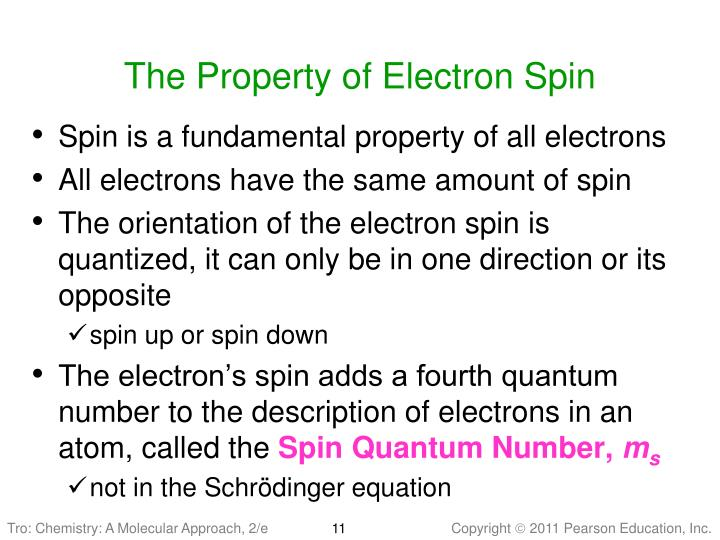 The Property of Electron Spin