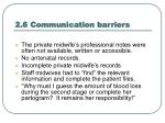 2 6 communication barriers